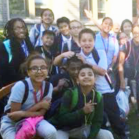 Group of students at Community School