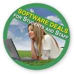 Software deals for students and staff