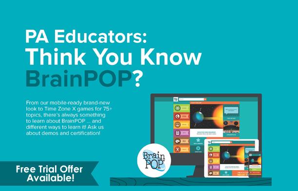 PA Educators: Think you know BrainPOP?