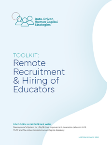 Remote Recruitment & Hiring of Educators