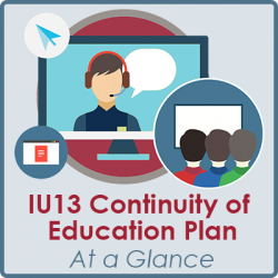 IU13 Continuity of Education Plan at a Glance
