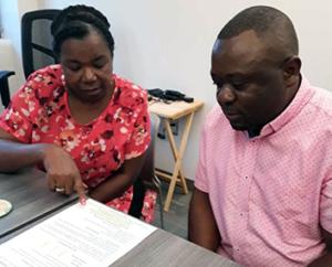 Refugee Center clients
