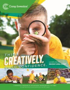 Camp Invention Flyer cover